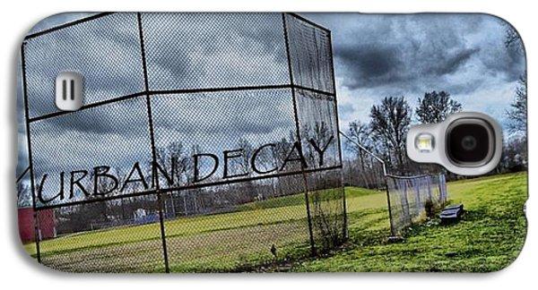 Bat Pyrography Galaxy S4 Cases - Urban Decay Galaxy S4 Case by Mark Lavan