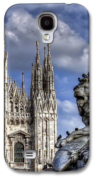 Ancient Galaxy S4 Cases - Urban Jungle Milan Galaxy S4 Case by Carol Japp