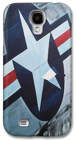 Jet Star Paintings Galaxy S4 Cases - US Air Force Galaxy S4 Case by Richard John Holden