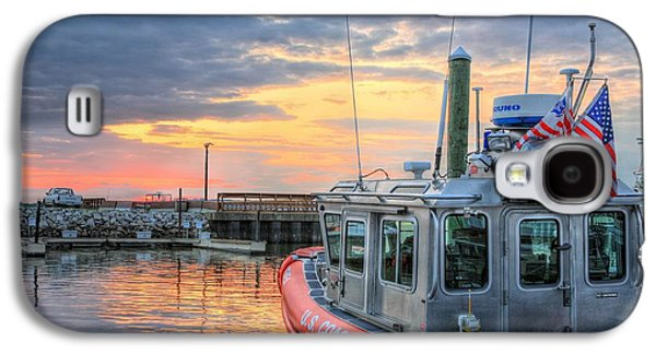 Joints Galaxy S4 Cases - US Coast Guard Defender Class Boat Galaxy S4 Case by JC Findley