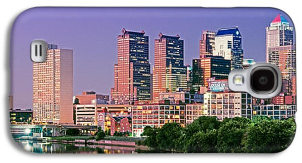 Schuylkill Galaxy S4 Cases - Us, Pennsylvania, Philadelphia Skyline Galaxy S4 Case by Panoramic Images