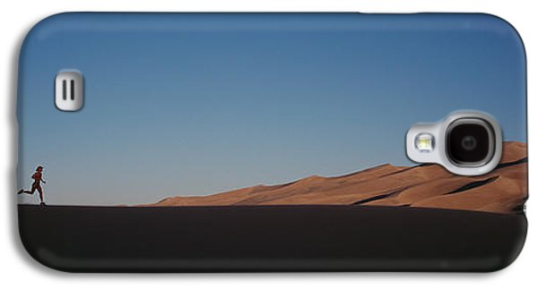 Jogging Galaxy S4 Cases - Usa, Colorado, Great Sand Dunes Galaxy S4 Case by Panoramic Images