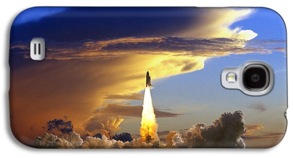 Enterprise Galaxy S4 Cases - Usa, Florida, Kennedy Space Center Galaxy S4 Case by Tips Images
