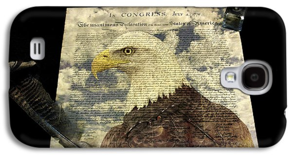 Recently Sold -  - American Independance Galaxy S4 Cases - Usa Galaxy S4 Case by Jack R Perry