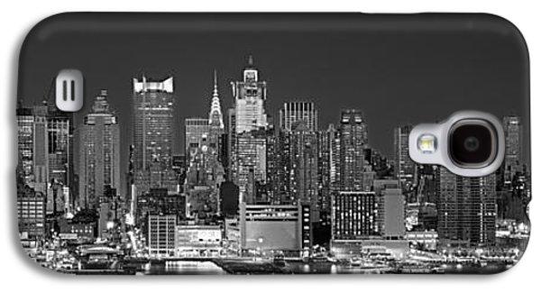 Locations Galaxy S4 Cases - Usa, New York, New York City, Panoramic Galaxy S4 Case by Panoramic Images