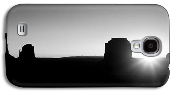 Sun Galaxy S4 Cases - Usa, Utah, Monument Valley, Sunrise Galaxy S4 Case by Panoramic Images