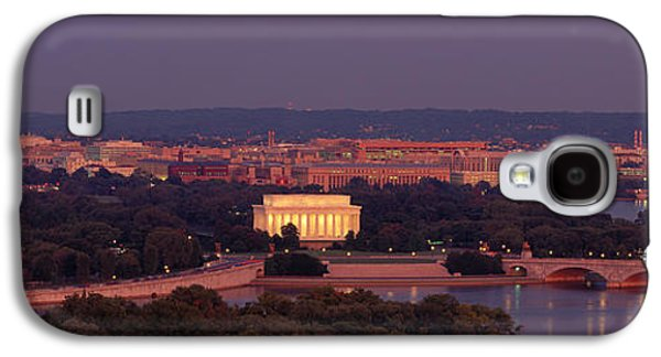 Usa, Washington Dc, Aerial, Night Galaxy S4 Case by Panoramic Images