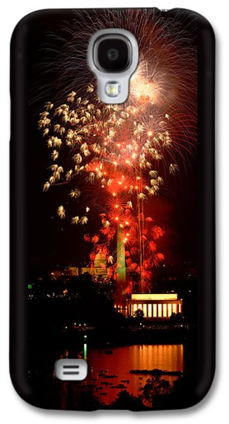 Usa, Washington Dc, Fireworks Galaxy S4 Case by Panoramic Images