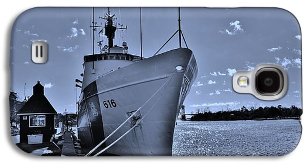 Transportation Photographs Galaxy S4 Cases - U S Coast Guard 616 In Cyan Galaxy S4 Case by Bob Sample
