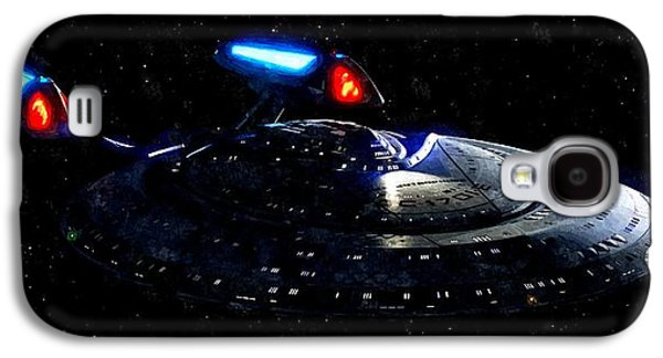Enterprise Galaxy S4 Cases - USS Enterprise Galaxy S4 Case by Florian Rodarte