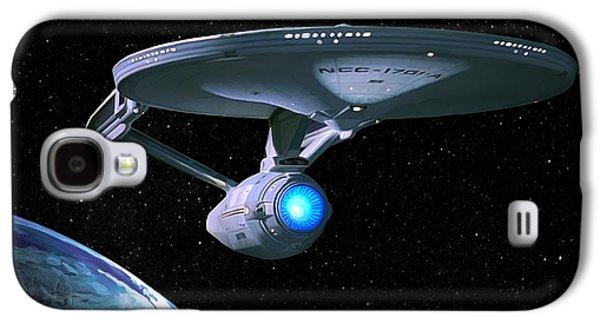 Uss Enterprise Galaxy S4 Case by Paul Tagliamonte