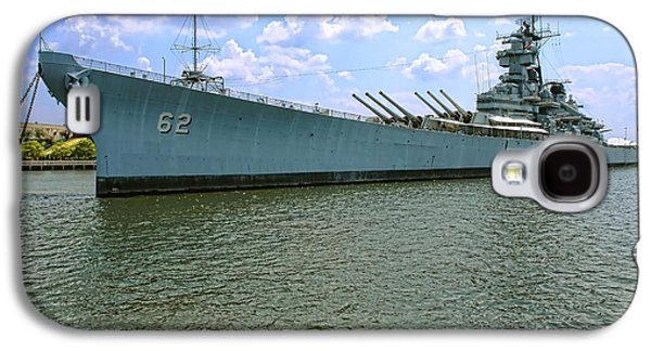 Armor Galaxy S4 Cases - USS New Jersey Galaxy S4 Case by Olivier Le Queinec