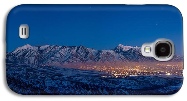Fog Photographs Galaxy S4 Cases - Utah Valley Galaxy S4 Case by Chad Dutson