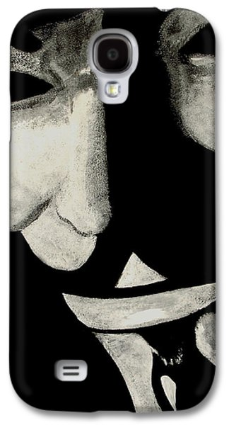 Novel Paintings Galaxy S4 Cases - V Galaxy S4 Case by Dale Loos Jr