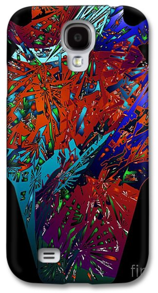 Digital Abstract Drawings Galaxy S4 Cases - V Pot Concept 2 Galaxy S4 Case by Dale Crum