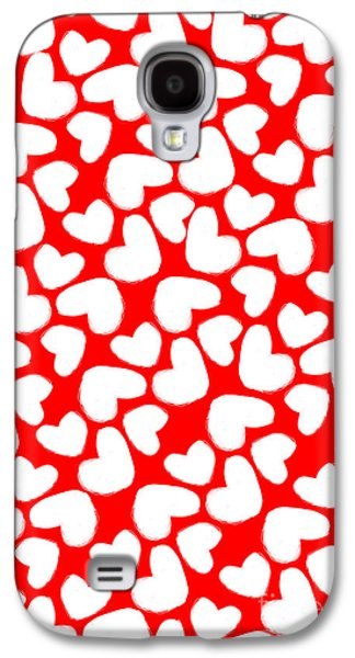 Valentines Day Card Galaxy S4 Case by Louisa Knight