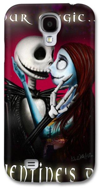 Nightmare Digital Art Galaxy S4 Cases - Valentines Day Greeting Card Galaxy S4 Case by Alessandro Della Pietra
