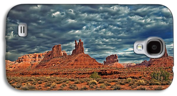 Best Sellers -  - Haybale Galaxy S4 Cases - Valley Of The Gods Galaxy S4 Case by Robert Bales