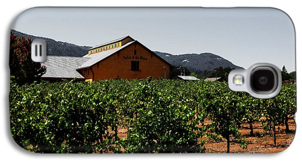 Pastoral Vineyards Galaxy S4 Cases - Valley of The Moon Sonoma California 5D24485 v2 Galaxy S4 Case by Wingsdomain Art and Photography