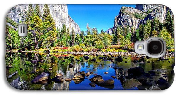 Limited Galaxy S4 Cases - Valley View Reflection Yosemite National Park Galaxy S4 Case by Scott McGuire