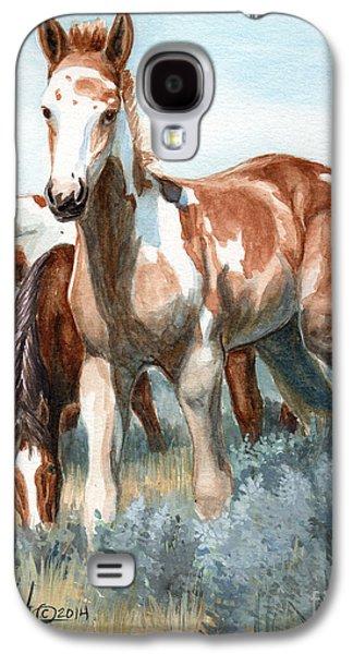 Saving Paintings Galaxy S4 Cases - Van Gogh of Sand Wash Basin Colorado Galaxy S4 Case by Linda L Martin