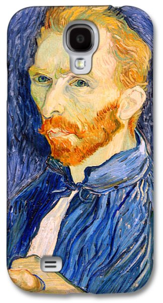 Cora Wandel Galaxy S4 Cases - Van Gogh On Van Gogh Galaxy S4 Case by Cora Wandel