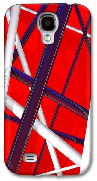 Van Halen 3d Iphone Cover Galaxy S4 Case by Andi Blair