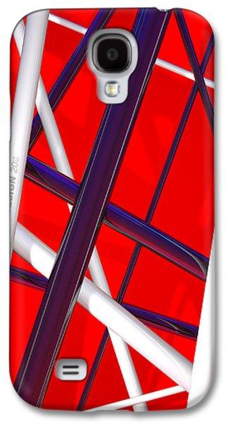 Van Halen Galaxy S4 Cases - Van Halen 3D iphone Cover Galaxy S4 Case by Andi Blair