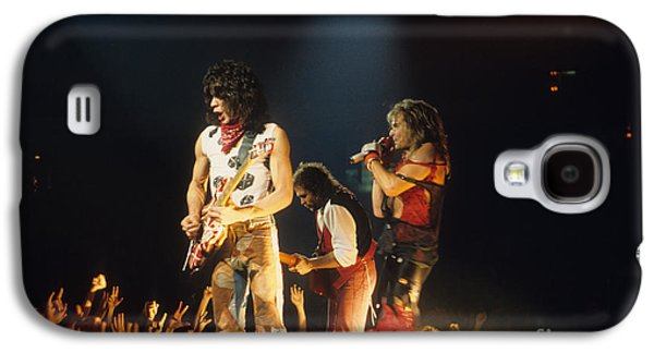 Van Halen Galaxy S4 Cases - Van Halen Galaxy S4 Case by Rich Fuscia