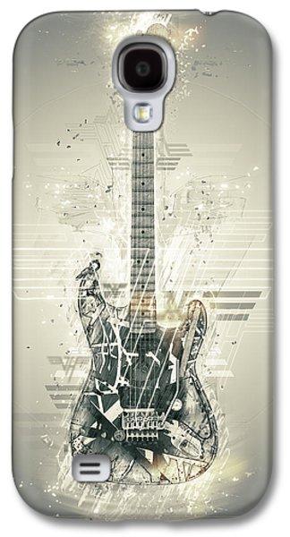 Van Halen Galaxy S4 Cases - Van Halens Frankenstrat Galaxy S4 Case by Taylan Soyturk