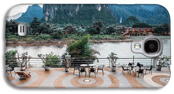 Surreal Landscape Galaxy S4 Cases - Vang Vieng View Galaxy S4 Case by Eugene Feygin