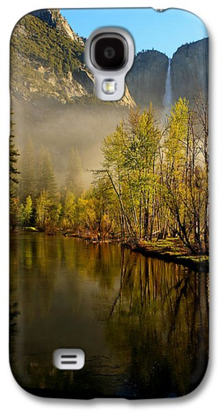 California Tourist Spots Galaxy S4 Cases - Vanishing Mist Galaxy S4 Case by Duncan Selby