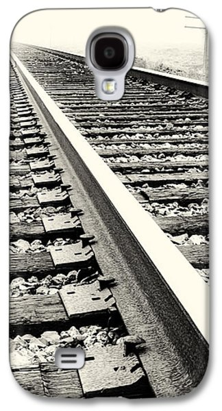 Telephone Poles Galaxy S4 Cases - Vanishing Point Galaxy S4 Case by Caitlyn  Grasso