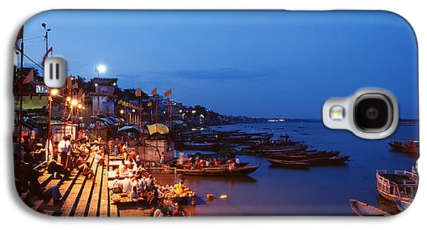Religious Galaxy S4 Cases - Varanasi, India Galaxy S4 Case by Panoramic Images
