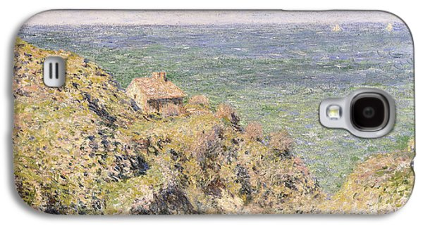 Posters On Paintings Galaxy S4 Cases - Varengeville Gorge Galaxy S4 Case by Claude Monet