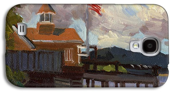 4th July Paintings Galaxy S4 Cases - Vashon Island 4th of July Galaxy S4 Case by Diane McClary