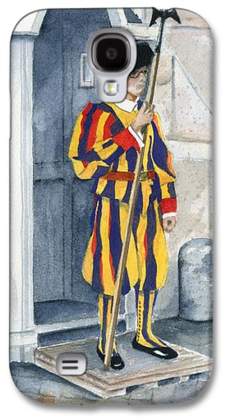 Swiss Paintings Galaxy S4 Cases - Vatican Guard Galaxy S4 Case by Marsha Elliott