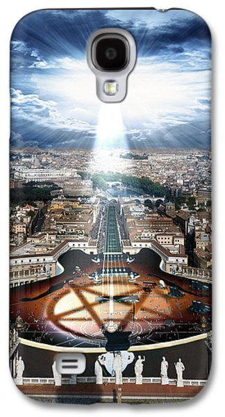 Digital Galaxy S4 Cases - Vatican Rocking View Galaxy S4 Case by Marian Voicu