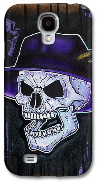 Vato Galaxy S4 Cases - Vato Skull Galaxy S4 Case by Jon Jochens