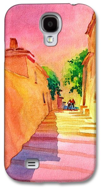 Mood Paintings Galaxy S4 Cases - Vaugines Steps No 1 Galaxy S4 Case by Virgil Carter