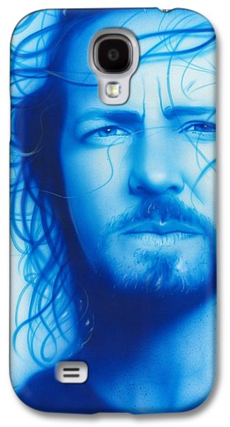 Eddie Vedder - ' Vedder ' Galaxy S4 Case by Christian Chapman Art