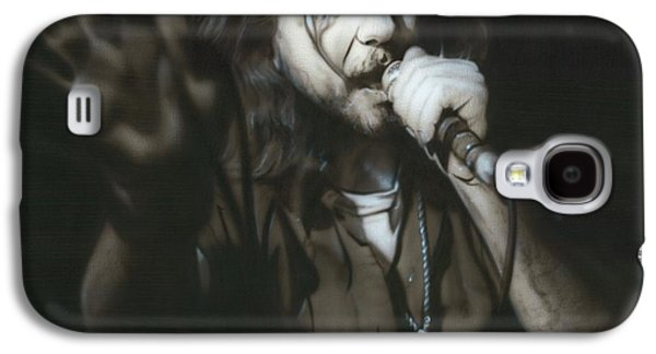 Eddie Vedder - ' Vedder IIi ' Galaxy S4 Case by Christian Chapman Art