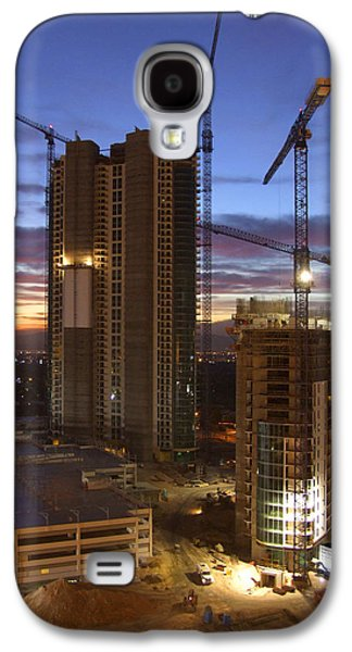 Construction Galaxy S4 Cases - Vegas Expansion Galaxy S4 Case by Mike McGlothlen