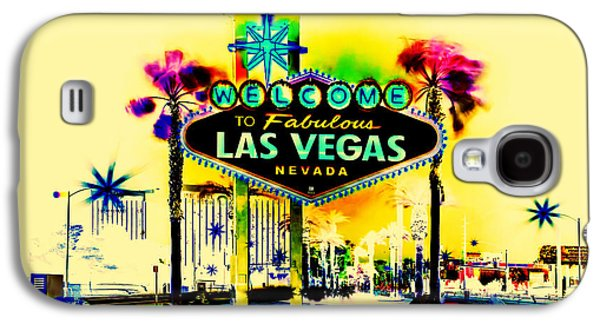 Lounge Galaxy S4 Cases - Vegas Weekends Galaxy S4 Case by Az Jackson