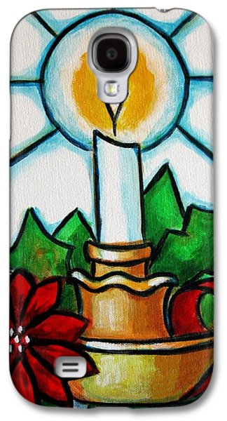 Candle Stand Galaxy S4 Cases - Velapascua Galaxy S4 Case by Edgar Torres