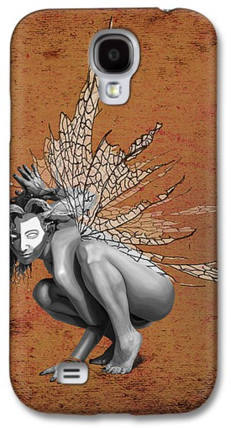 Tinker Bell Galaxy S4 Cases - Venetian Fairy Galaxy S4 Case by Kd Neeley