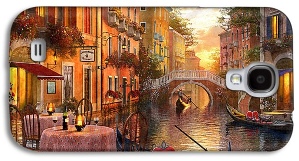 Venetian Sunset Galaxy S4 Case by MGL Meiklejohn Graphics Licensing