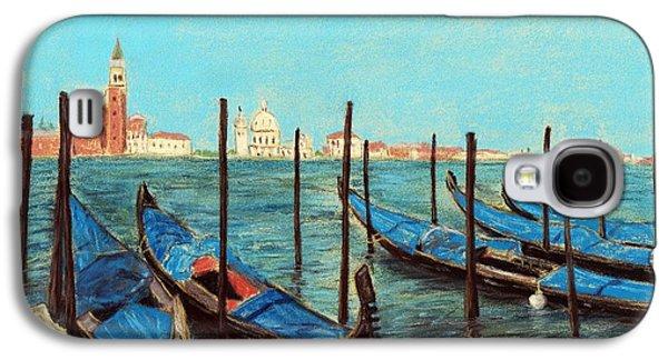 Boat Galaxy S4 Cases - Venice Galaxy S4 Case by Anastasiya Malakhova