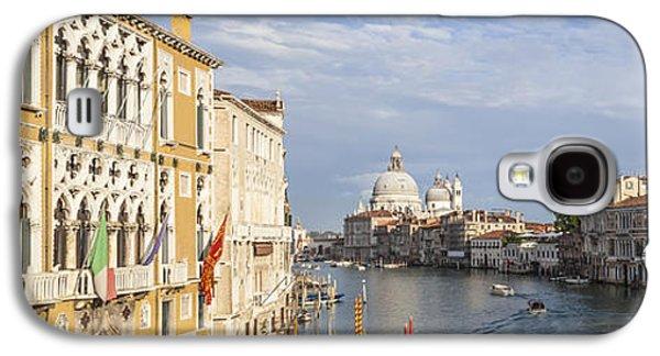 Ancient Galaxy S4 Cases - VENICE Canal Grande and Santa Maria della Salute Galaxy S4 Case by Melanie Viola