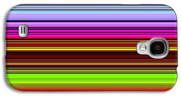 Abstract Nature Galaxy S4 Cases - Venice Flower Abstract Galaxy S4 Case by Chuck Staley